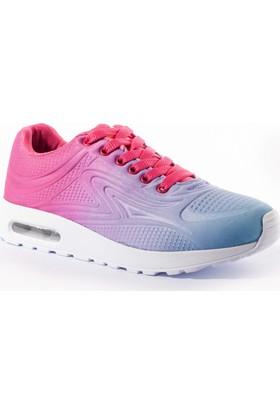 Viscon Kadın Ayakkabı 1677210 Fuşya-Mavi