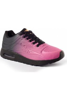 Viscon Kadın Ayakkabı 1677243 Siyah-Fuşya