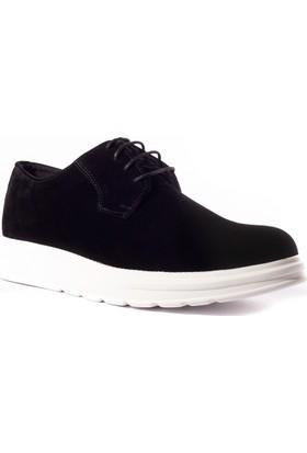 Conteyner Erkek Ayakkabı 548238 Siyah Süet