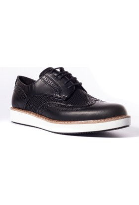 Conteyner Erkek Ayakkabı 727242 Siyah-Cilt