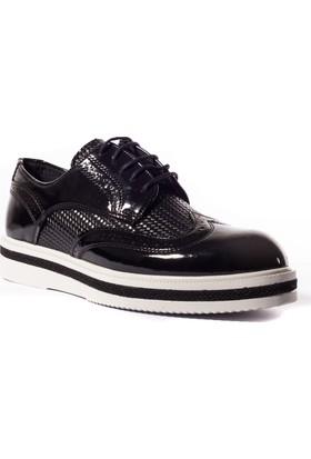 Conteyner Erkek Ayakkabı 803248 Siyah-Rugan