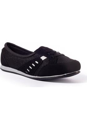 Conpax Kadın Ayakkabı 1080240 Siyah-Beyaz