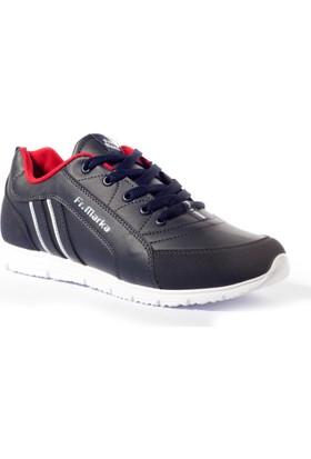 Free Marka Kadın Ayakkabı 4000228 Lacivert-Kırmızı