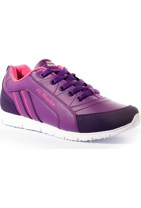 Free Marka Kadın Ayakkabı 4000232 Mor-Fuşya