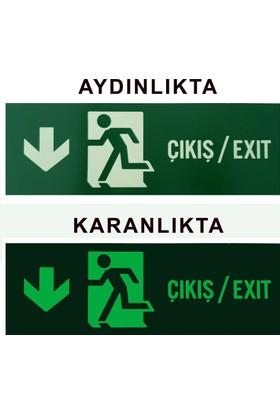 Bilge Fotolümen Levha - Çıkış/Exit Aşağı Yön