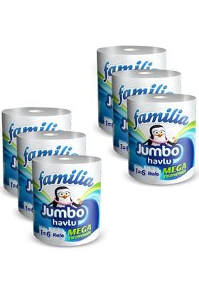 Familia Jumbo Havlu 6 Adet