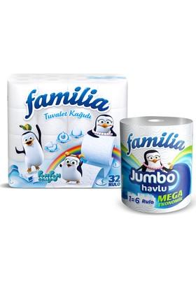 Familia Tuvalet Kagıdı 32'li + Familia Jumbo Havlu