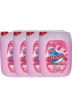 Bingo Soft 5 L Gülpembe 4 Adet