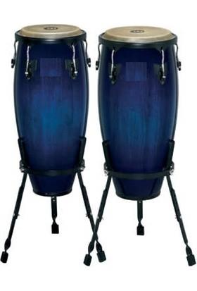 Rhythm Percussion Coc120 - Tumba Fiberglass Standlı (Mavi)