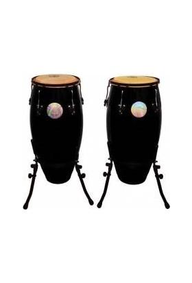 Rhythm Percussion Coc120 - Tumba Fiberglass Standlı (Siyah)