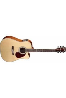 Cort Mr730Fxnat Elektro Akustik Gitar + Kılıf