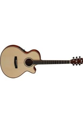 Cort Sfxas4-Nat Elektro Akustik Gitar + Kılıf