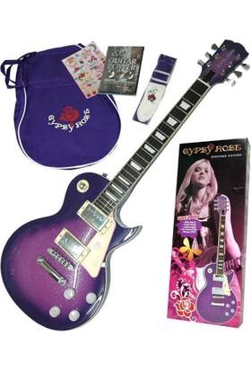 Valencia Gre2Kcpp Elektro Gitar Set Purple +Askı+Gig+Bag+Sticker+Dvd