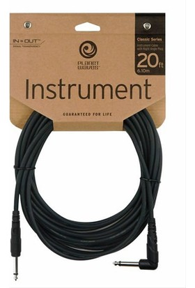 Planetwaves Pwcgtra20 Gitar Kablo 20 İnch Cable Right Angle :Planetwaves Çin