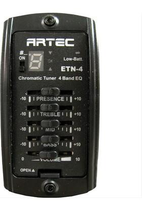 Artec Etn4K 4 Band Equalizer-Tuner-Epc-Flat-Kutulu :Artec Kore