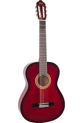 Valencia Vc151Rds Klasik Gitar 1/4 Kırmızı Sunburst