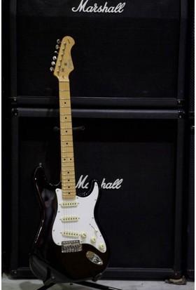 Kozmos Kst-57Sss-Gmn-Bk 57 Stratocaster Sss Siyah Elektro Gitar