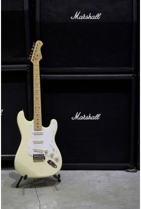 Kozmos Kst-57Sss-Gmn-Vwh 57 Stratocaster Sss Vintage Beyaz Elektro Gitar