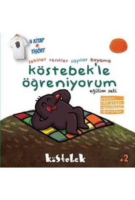 Köstebek'Le Öğreniyorum Seti (4 Kitap+Tişört)