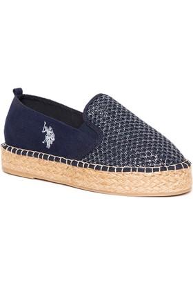 U.S. Polo Assn. Kadın Y7Marx Ayakkabı Lacivert