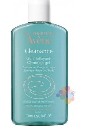 Avene Cleanance Gel Nettoyant 200 Ml (Yağlı Ve Akneli Ciltler İçin Temizleme Jeli)