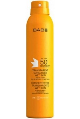 Babe Güneş Kor. Transparan Spray Spf50+ 200Ml