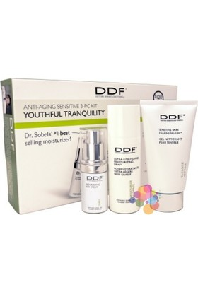 Ddf Anti-Aging Sensitive Skincare Kit-Yaşlanma Karşıtı