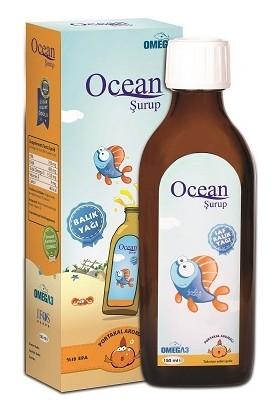 Ocean Omega-3 Portakal Aromalı Balık Yağı 150 Ml