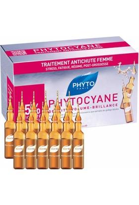 Phyto Phytocyane Ampul 12 X 7.5 Ml - Kadın Tipi Dönemsel Saç Dökülmesine Karşı Ampul