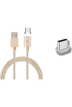 Mag Cable Type-C Mıknatıslı Şarj Ve Veri Aktarım Kablosu