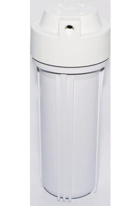 Milsuart Su Arıtma Cihazları İçin 10'' Mat Filtre Kabı (Hausingi)