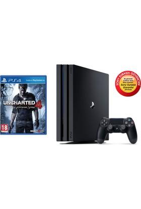 Sony Playstation 4 Pro 1 Tb + Uncharted 4: Bir Hırsızın Sonu (Eurasia)