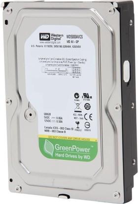Western Digital 500 Gb Sata-2 7200Rpm 16Mb Wd5000Avcs