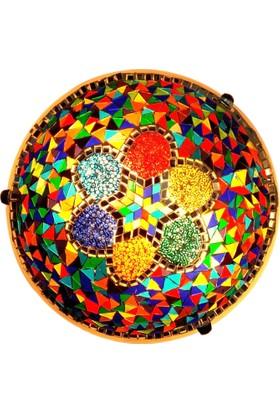 Otantik Osmanlı Dekoratif Mozaik 30'luk Duvar Plafonyerleri