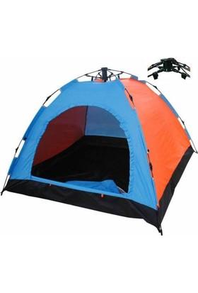 Angel Eye 3 Kişilik Otomatik Kamp Çadırı 200 x 150 x 110 Cm Çantalı Sineklik