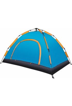 Angel Eye 6 Kişilik Otomatik Kamp Çadırı 220 x 250 x 150 Cm Çantalı Sineklik