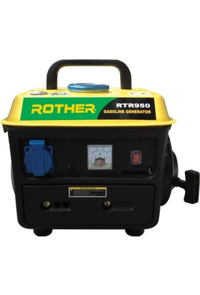 Rother Rtr950 Benzinli Jeneratör 0,75/0,8 Kva İpli