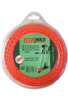 Rtr Max Rtr Max Rty353 Kare Burgulu Tırpan Misinası 3.3 Mm x 46 Mt