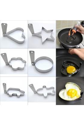 Nar Şekilli Omlet Pişirme Kalıbı 6'lı Set