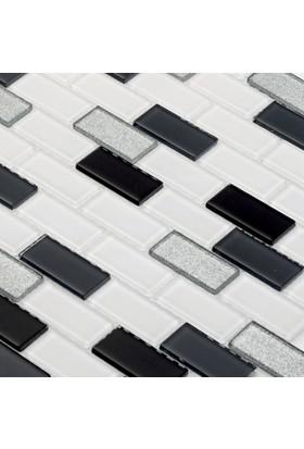 Mcm Mutfak Tezgah Arası Kristal Cam Mozaik Mp450 - 23 x 48