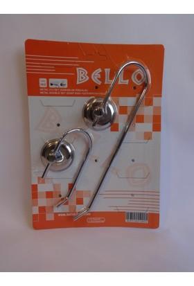 Bello 2'li Set ( Açık Wc Kağıtlık + Açık Solo Havluluk )