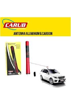 Anten Tepe Kırmızı - Karbon Alüminyum 12cm 0041008