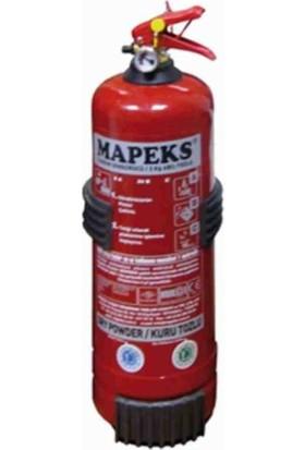 MAPEKS Onaylı 2kg Yangın Söndürücü (Yeni Yönetmeliğe Göre Üretilmiştir) EK201