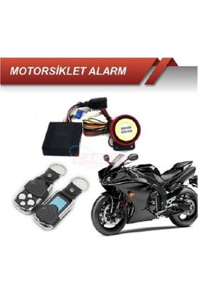 Motorsiklet Alarmı Uzaktan Açma Kapama Çift Kumanda 0011137A