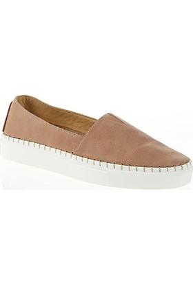 Nemesis Shoes Casual Ayakkabı Bej Deri