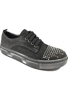 Nemesis Shoes Casual Ayakkabı Siyah Nubuk