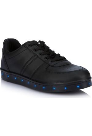 DeFacto Erkek Çocuk Led Işıklı Ayakkabı Siyah