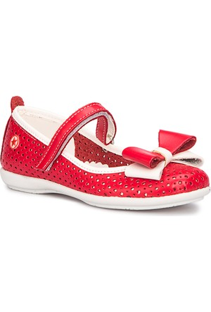Polaris 71.509158.P Kırmızı Kız Çocuk Basic Sandalet