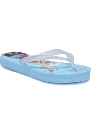 Frozen 72930T Mavi Kız Çocuk 376 Terlik