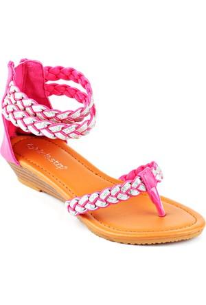 Pink Step 201592 Fuşya Kız Çocuk Sandalet